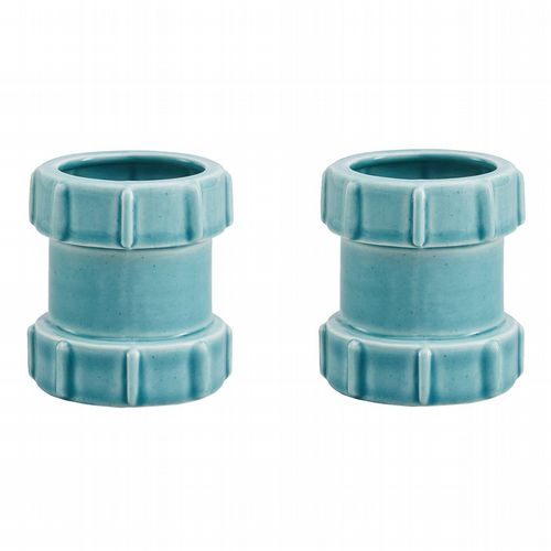 Pipe Egg Cups - Pack of 2 - Blue